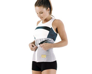 EVERLAST ZIPPER SLIMMER BELT FOR HER FAJA REDUCTORA CON CIERRE